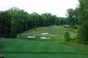 13th hole at potomac shores